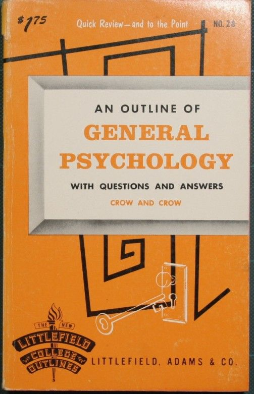 An outline of general psychology