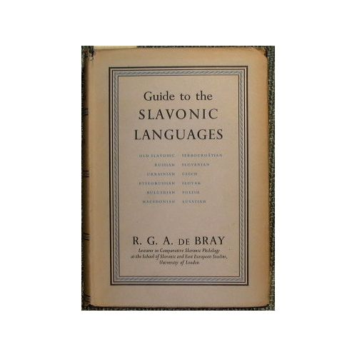 Guide to the Slavonic Language