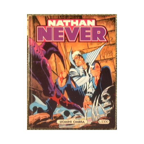 Nathan Never. Uomini ombra