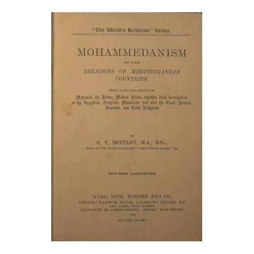 Mohammedanism and other religions of mediterranean countries